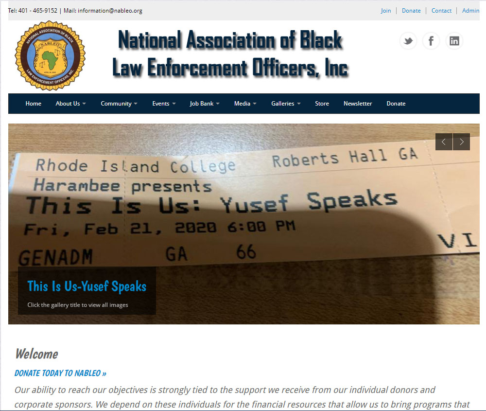 National Association of Black Law Enforcement Officers, Inc